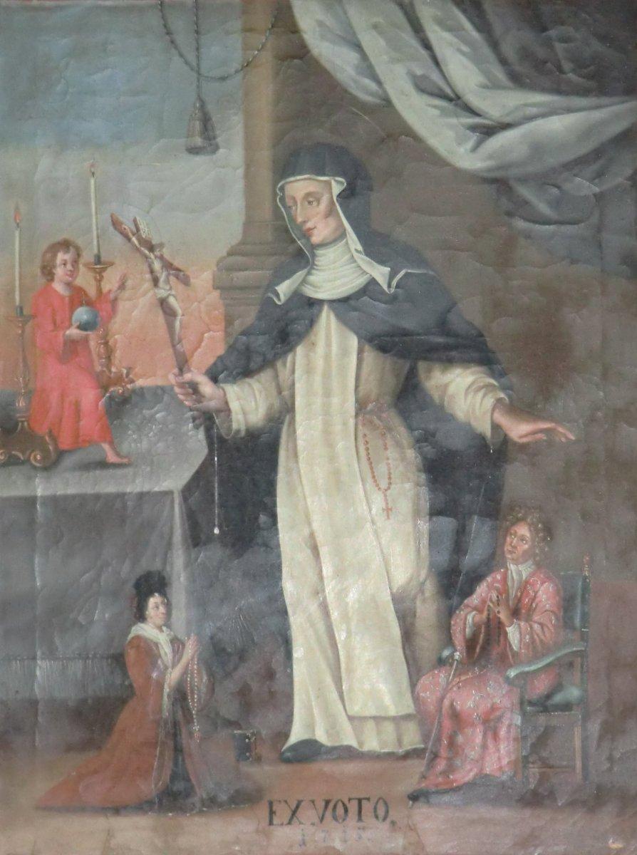Ex voto in der Klosterkirche Maria Medingen