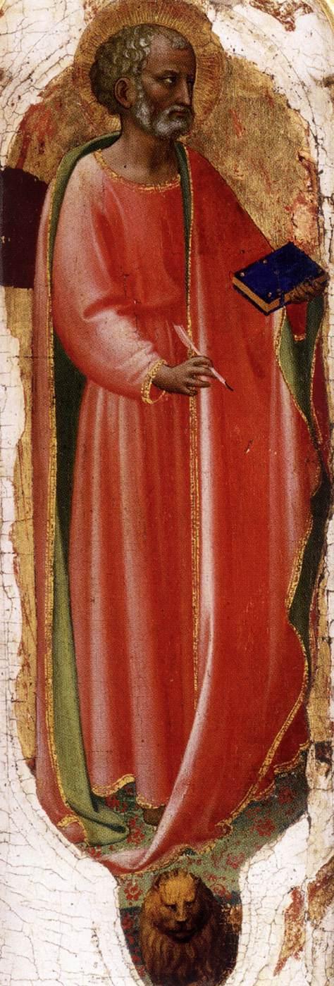Fra Angelico, Der heilige Markus, 1423, Musée Condé, Chantilly