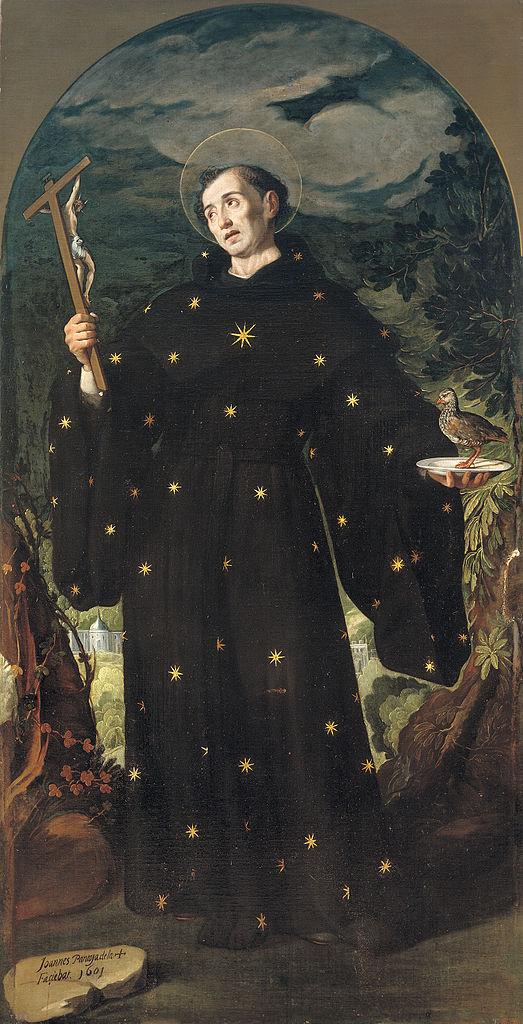 Juan Pantoja de la Cruz, Der heilige Nikolaus von Tolentino, 1601, Museo del Prado, Madrid