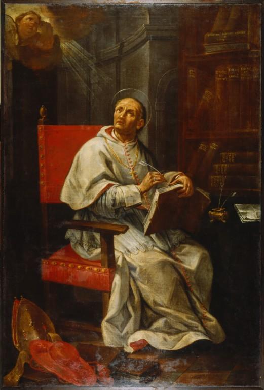 Andrea Barbiani (1708–1779), Der hl. Petrus Damiani, Biblioteca Classense, Ravenna