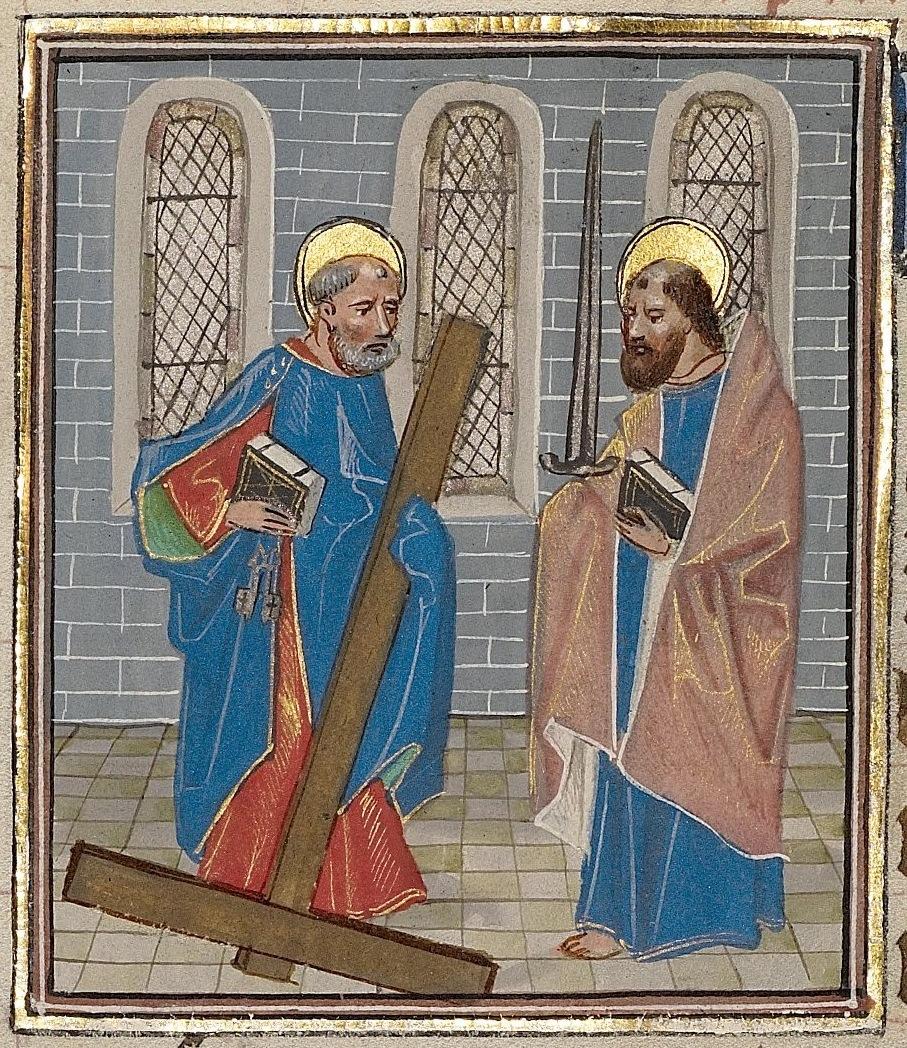 Illuminiertes Manuskript aus der Werkstatt von Willem Vrelant, um 1460, Getty Center, Los Angeles