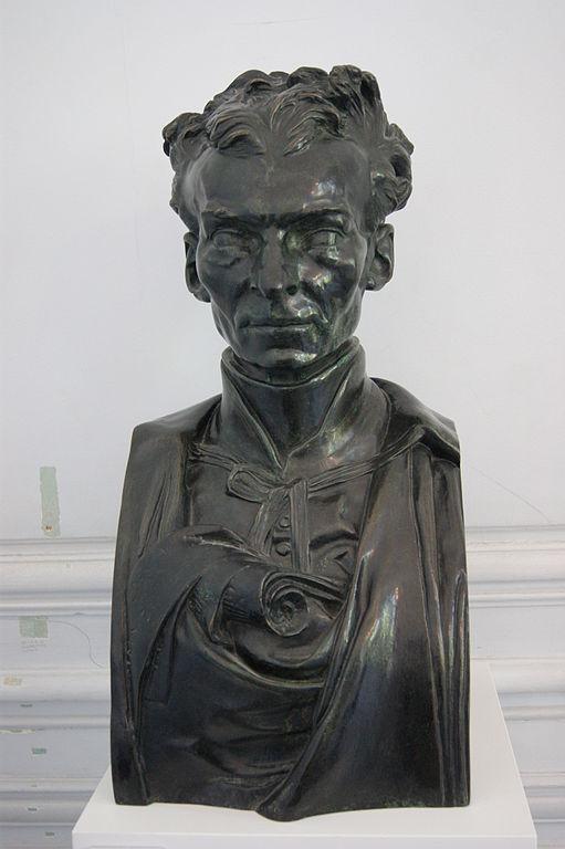 Le Père Eymard, Bronzebüste von Auguste Rodin, 1863, Musée Rodin, Paris. Foto: Lomita (CC BY-SA 3.0)