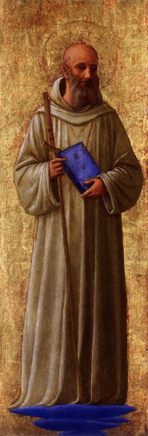 Fra Angelico, Der heilige Romuald, um 1440, Minneapolis Institute of Arts