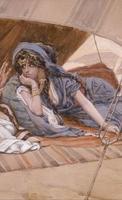 James Tissot, Abraham mit Sarah (Ausschnitt), um 1896–1902, The Jewish Museum, New York