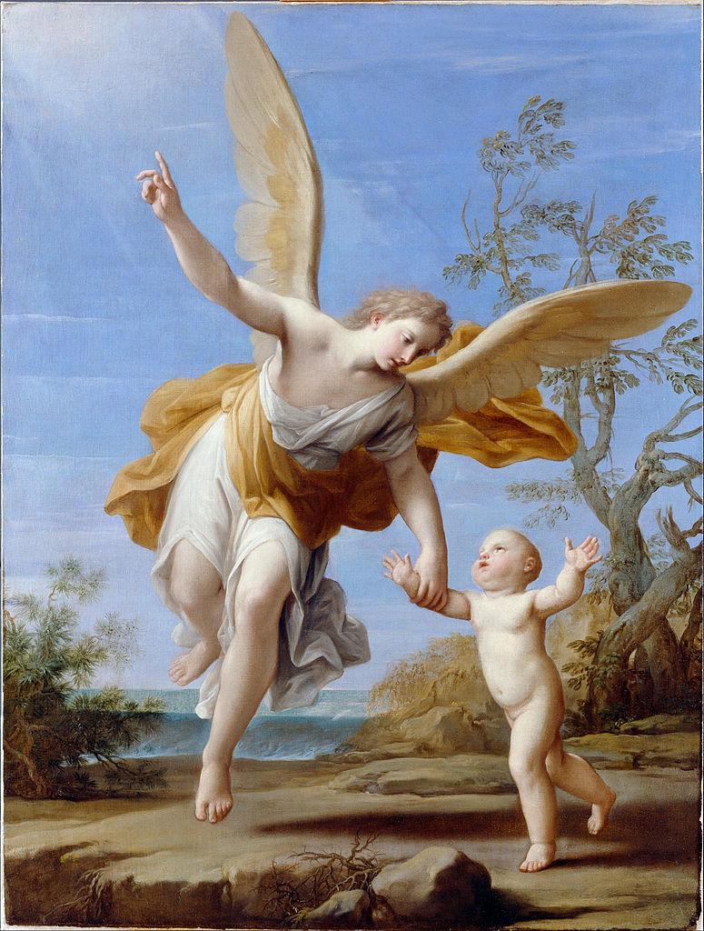 Marcantonio Franceschini, Der Schutzengel, 1716, Dulwich Picture Gallery, London