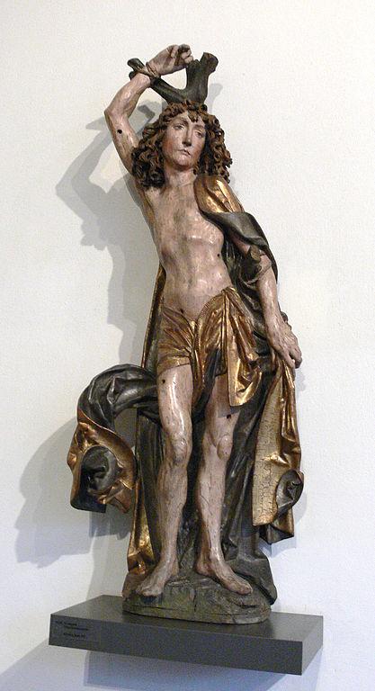 Tilman Riemenschneider, Der hl. Sebastian, um 1490, Bayerisches Nationalmuseum, München