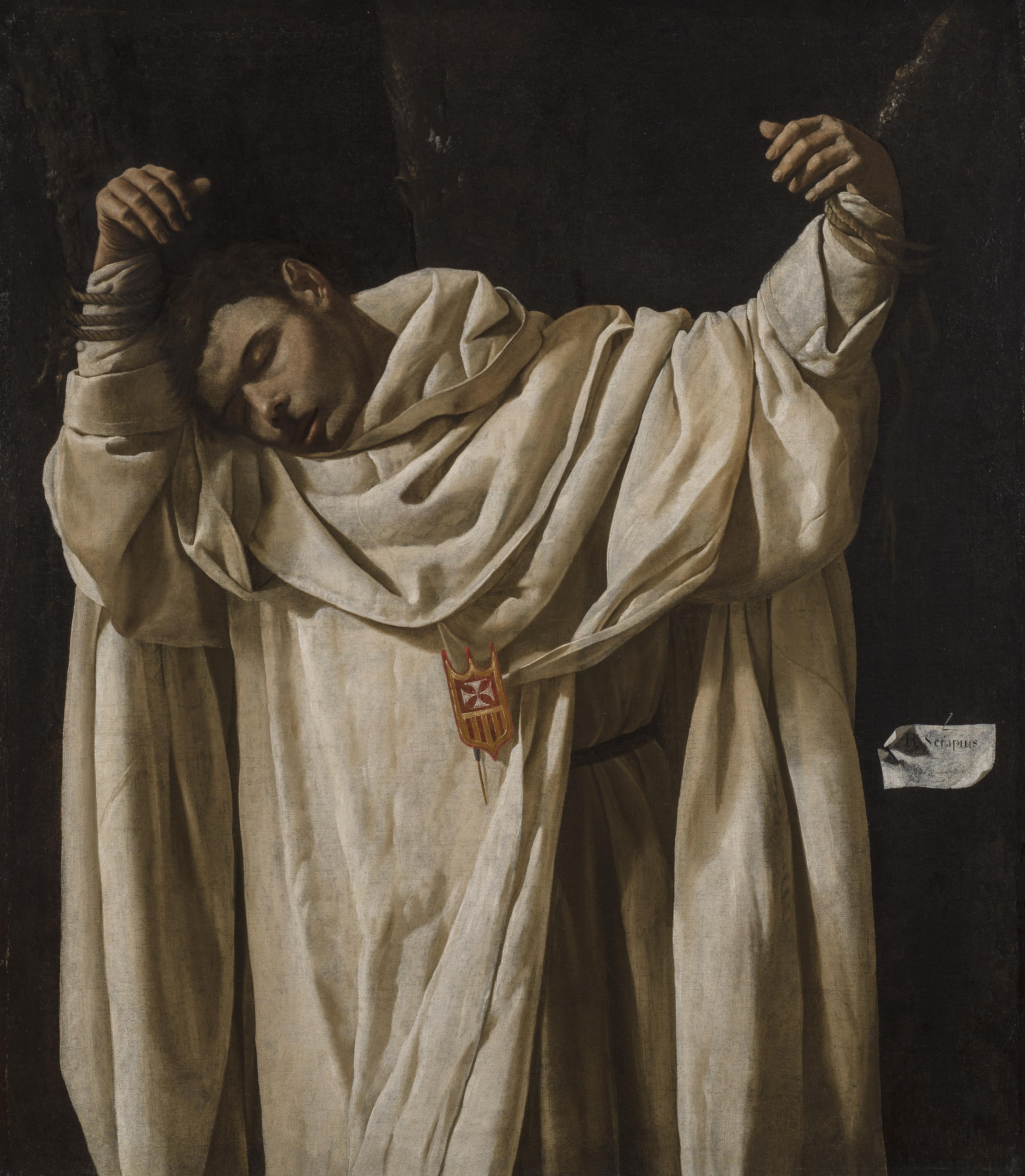 Francisco de Zurbarán, B. Serapius, 1628, Wadsworth Atheneum, Hartford, Connecticut