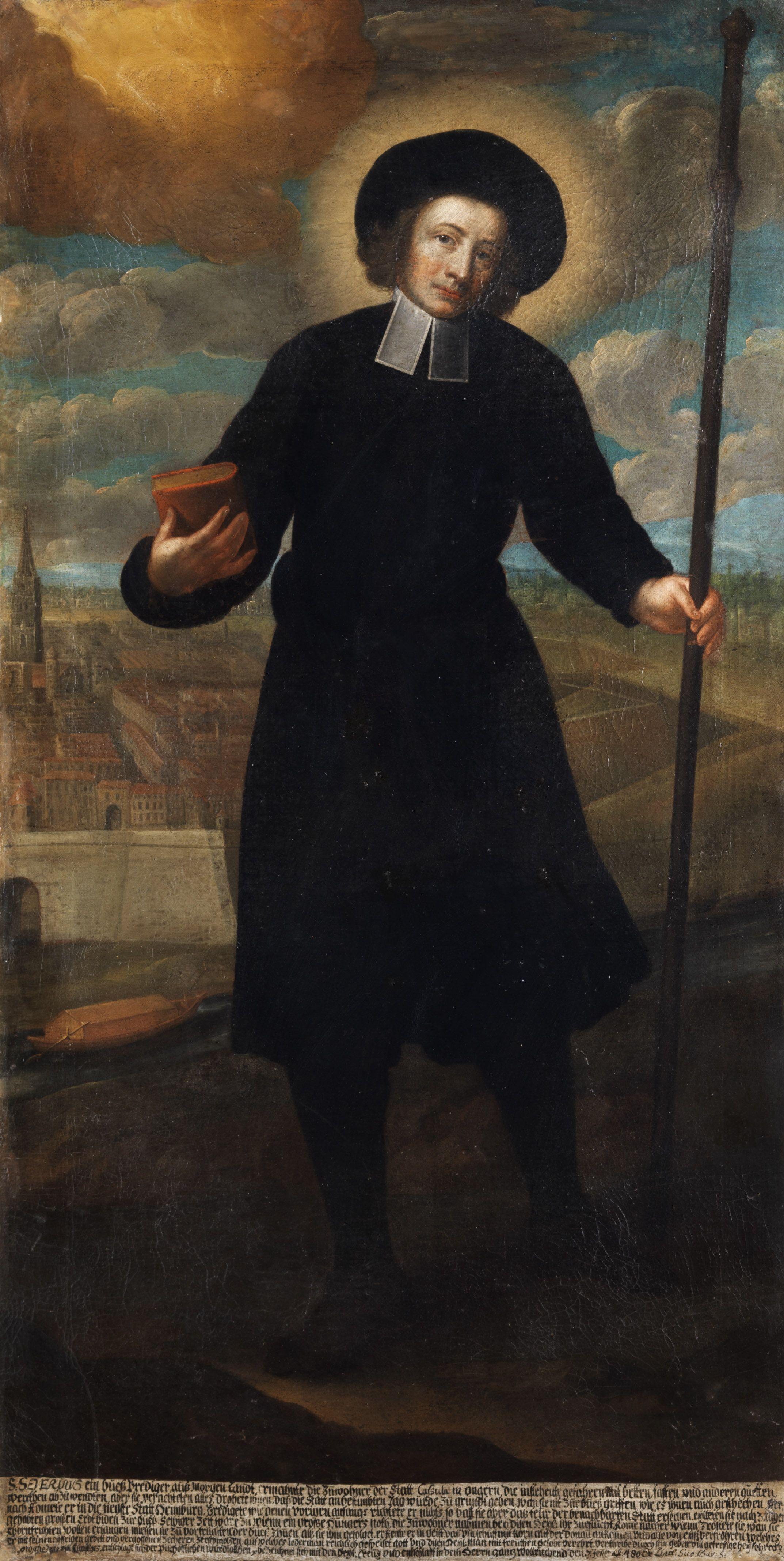 S. Severius, ein Bußprediger aus Morgenland, Süddeutschland, 18. Jahrhundert