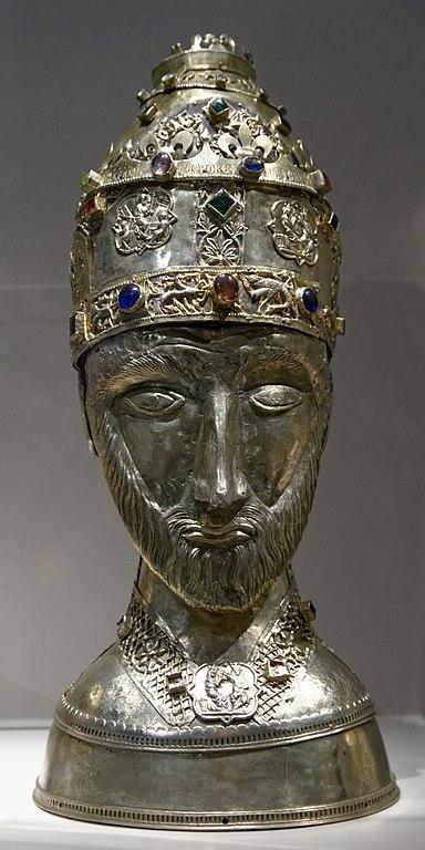 Hauptreliquiar Papst Silvesters, 1367, Dauerausstellung sakraler Kunst, Zadar, Kroatien. Foto: © Marie-Lan Nguyen/Wikimedia Commons/CC-BY 2.5