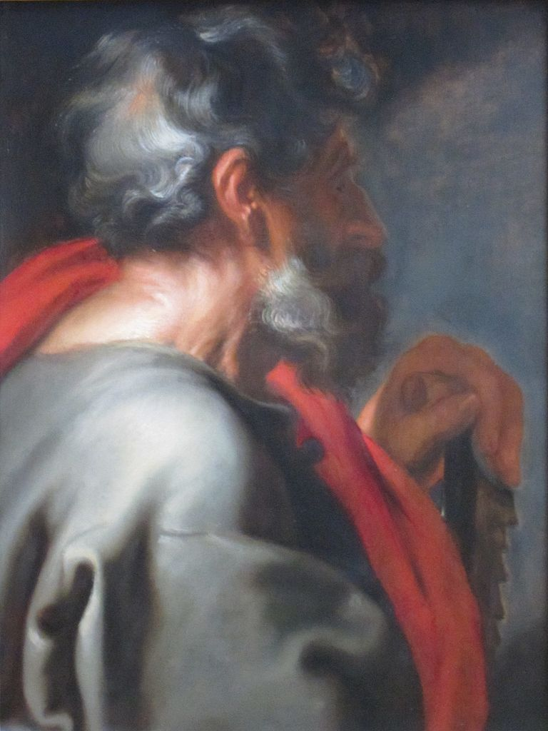 Anthonis van Dyck, Der Apostel Simon, um 1618, Getty Center, Los Angeles