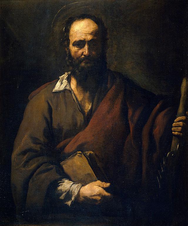 José de Ribera, San Simón, 1630–1635, Museo del Prado, Madrid