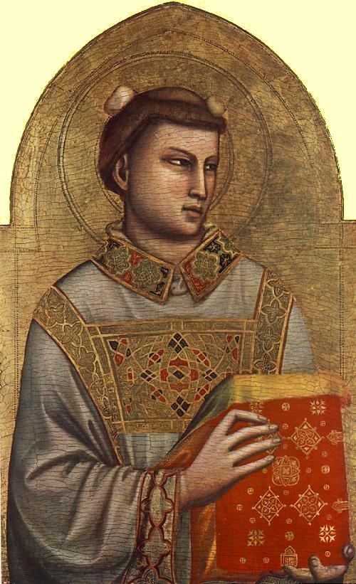 Giotto di Bondone, Stephanus, 1320–25, Museo Horne, Florenz