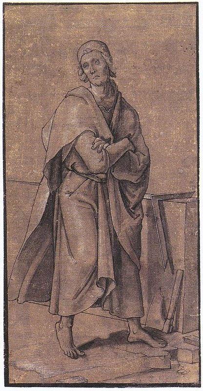 Hans Holbein d.J., Der Apostel Thomas, 1527, Metropolitan Museum of Art, New York