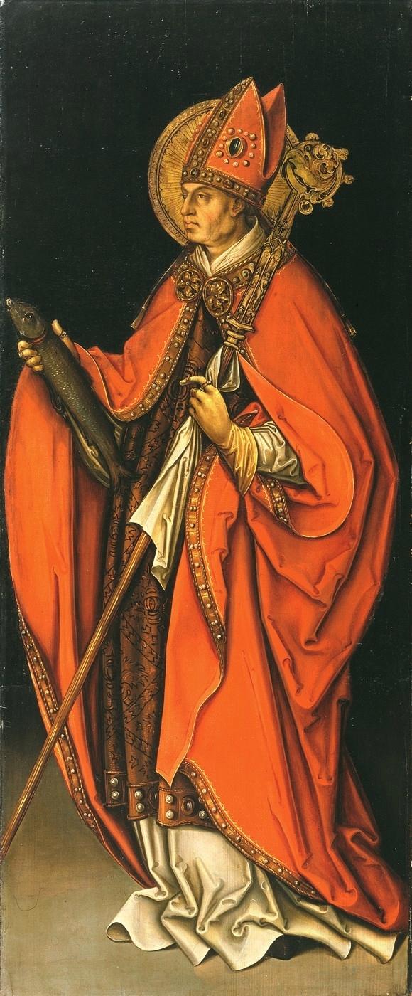 Leonhard Beck, Der heilige Ulrich, um 1510, Kunstsammlung der Veste Coburg