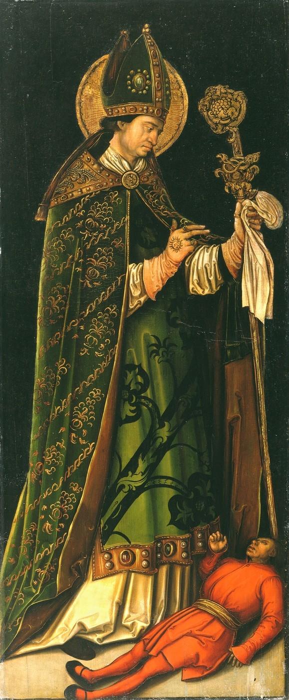 Leonhard Beck, Der hl. Valentin, um 1510, Gemäldesammlung Veste Coburg