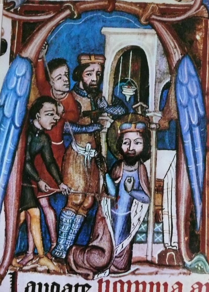 Wenzels Tod, Reisebrevier Johannes' von Neumarkt, um 1350