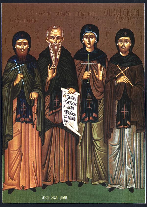 Xenophon und seine Familie