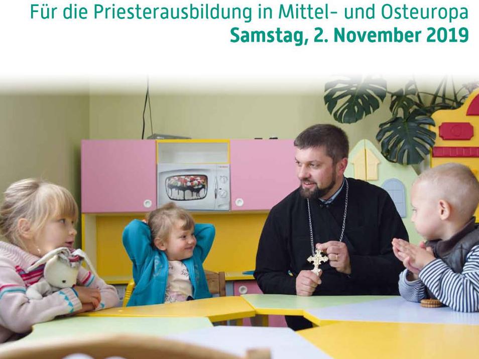 Die Allerseelenkollekte kommt der Priesterausbildung in den ehemals sozialistischen Ländern Mittel- und Osteuropas zugute (Bild: Markus Nowak / renovabis)