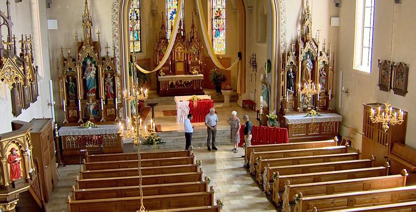 Boxbild Kirchenportrait Ehekirchen