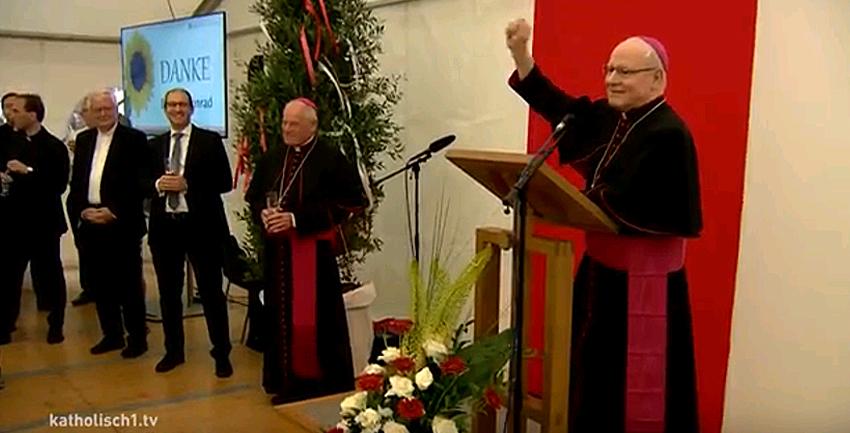 Boxbild Verabschiedung Bischof