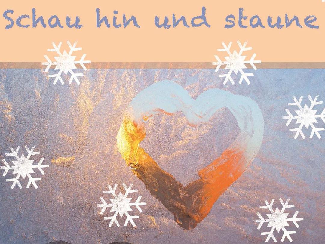 """Broschüre """"Hausgottesdienst im Advent"""" (Fachbereich Gemeindekatechese, Gestaltung: Sabine Sommerreißer)"""