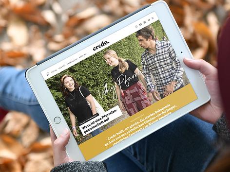 Credo-Online: Bistum baut junges Onlineportal weiter aus (Foto: Daniel Jäckel / pba)