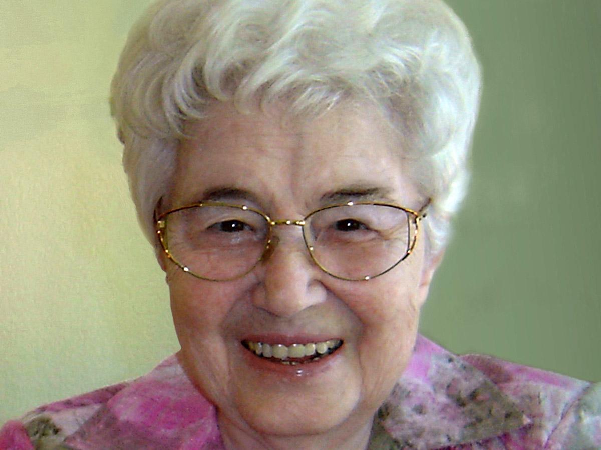 Die Gründerin der Fokolar-Bewgung Chiara Lubich (1920-2008) (Foto: Wikimedia Commons)
