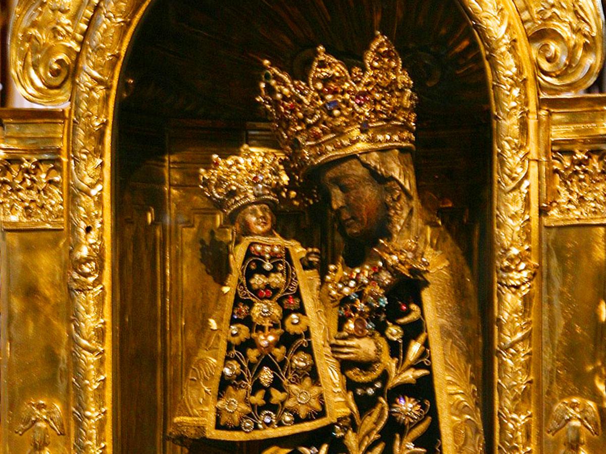 Die Schwarze Madonna von Altötting (Foto: Wikimedia Commons)