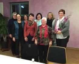 Frauenbund Vorstandschaft
