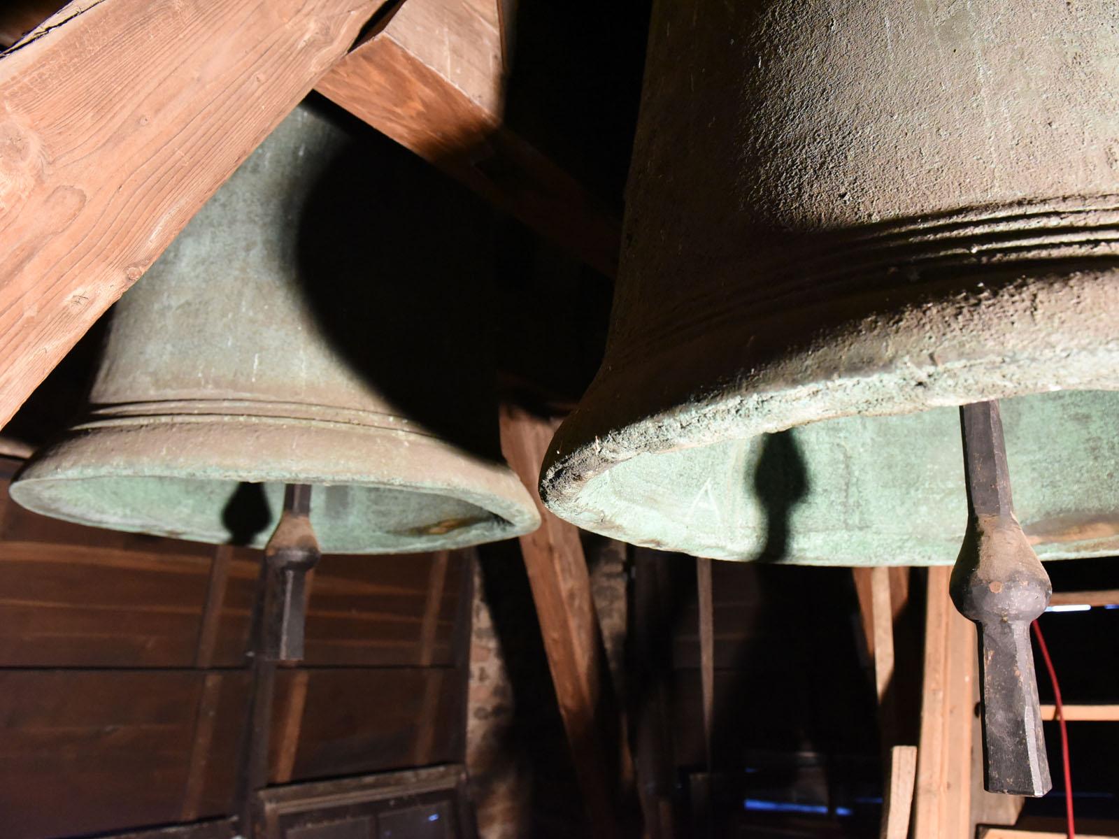 Glockenstuhl im Nordturm des Hohen Doms (Foto: Nicolas Schnall / pba)