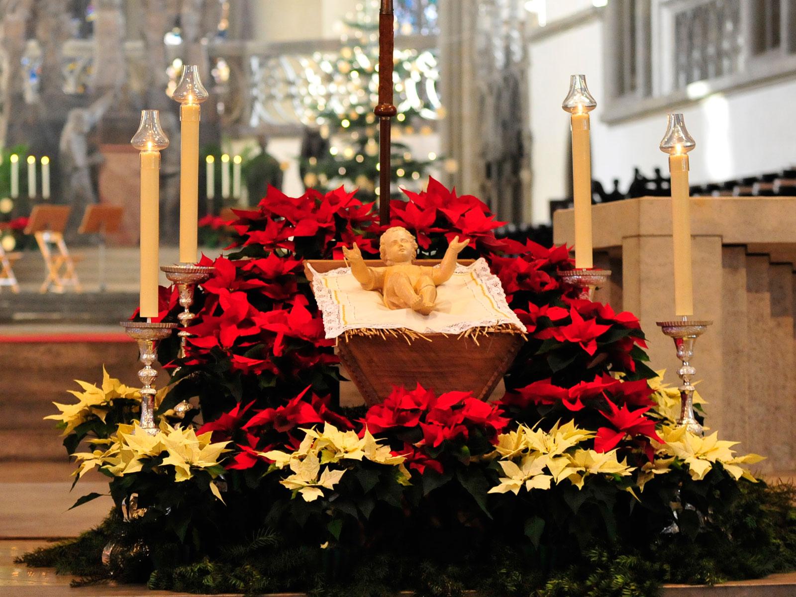 Gottesdienste in der Weihnachtszeit im Hohen Dom (Foto: Nicolas Schnall / pba)