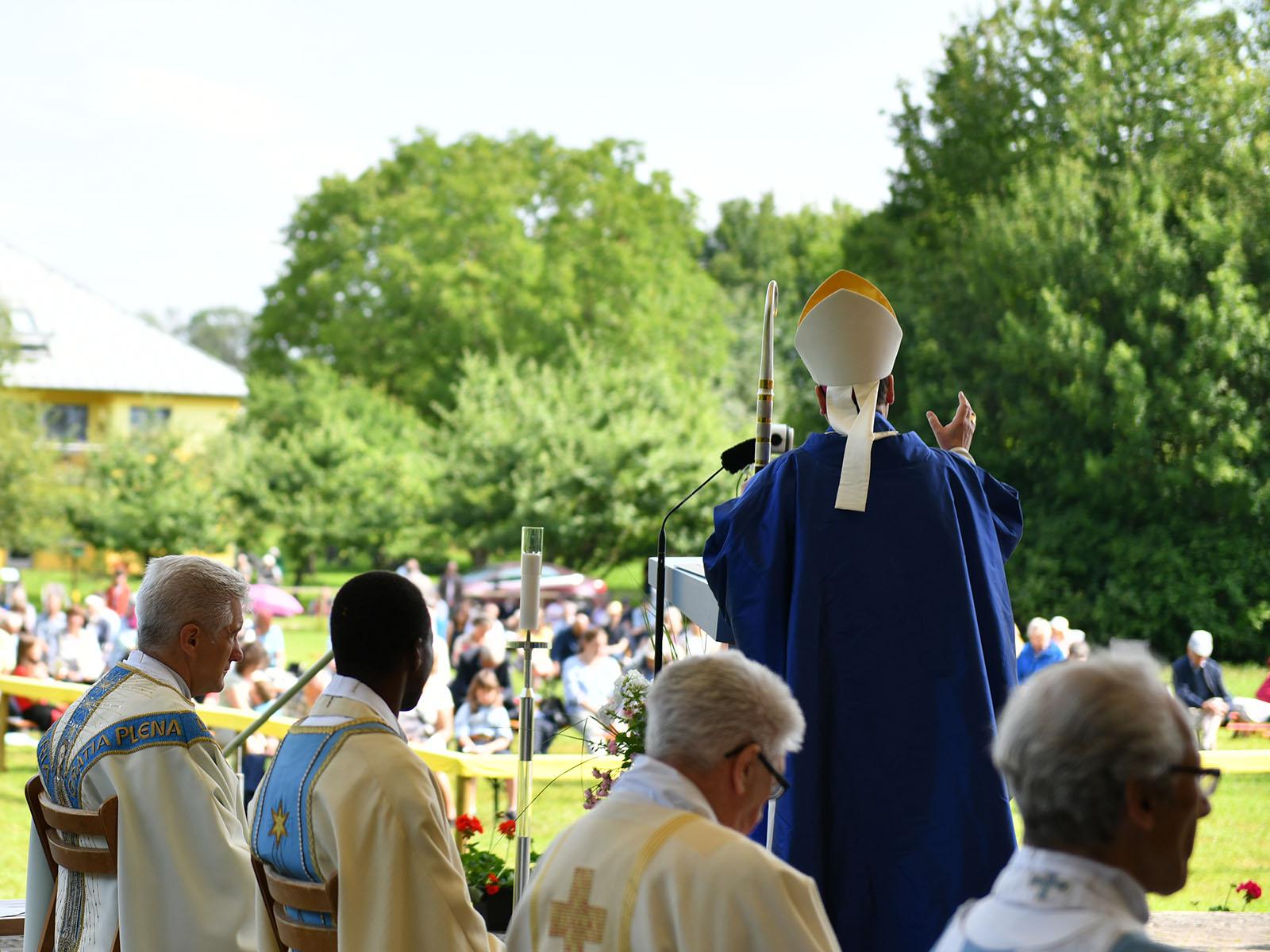 Großer Gebetstag in Marienfried (Foto: Julian Schmidt / pba)