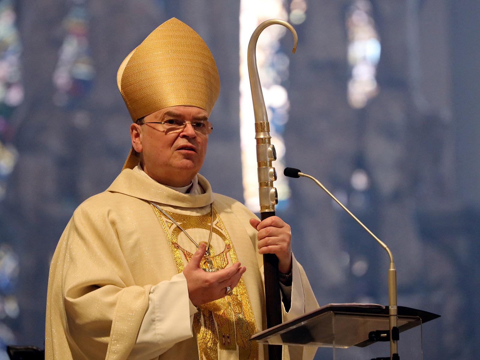 """""""Im Garten Gottes ist nichts und niemand gering"""": Bischof Bertram feiert Ostern im Hohen Dom (Foto: Annette Zoepf / pba)"""