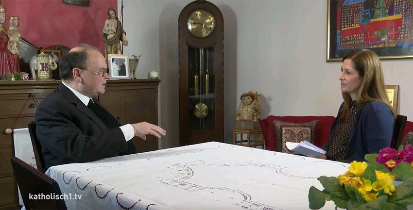 Interview Prälat Bertram Meier mit katholisch1.tv