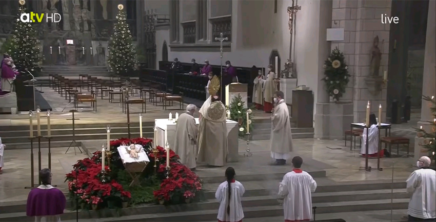 Jahresschlussandacht (katholisch1.tv)