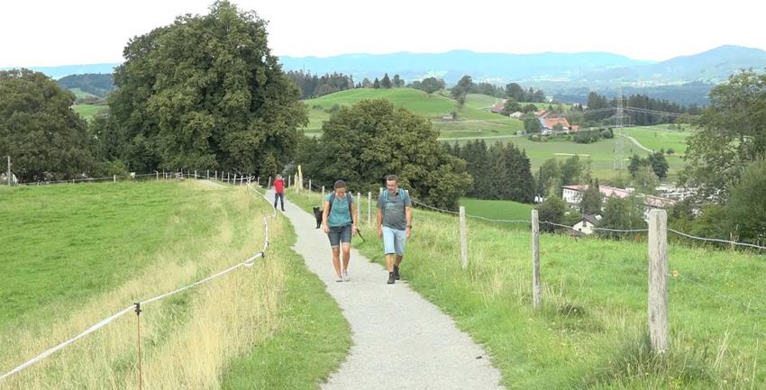 Kapellenweg Scheidegg