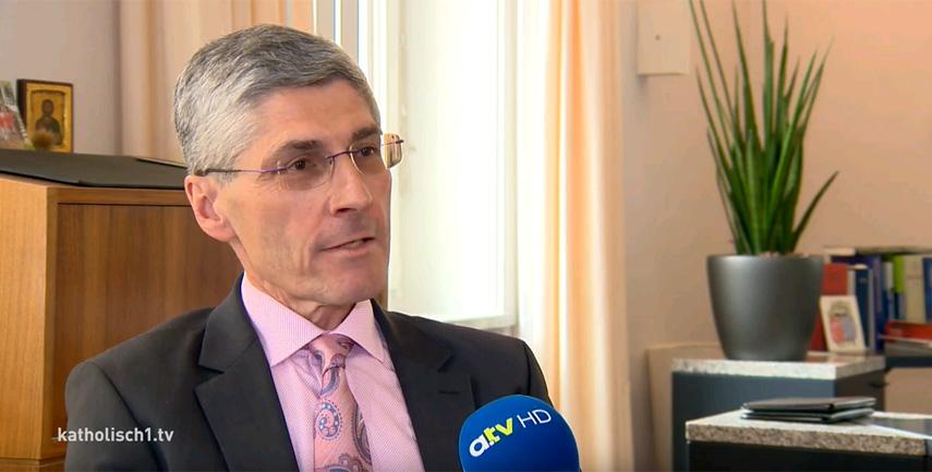 katholisch1.tv-Interview mit Finanzdirektor Dr. Donaubauer