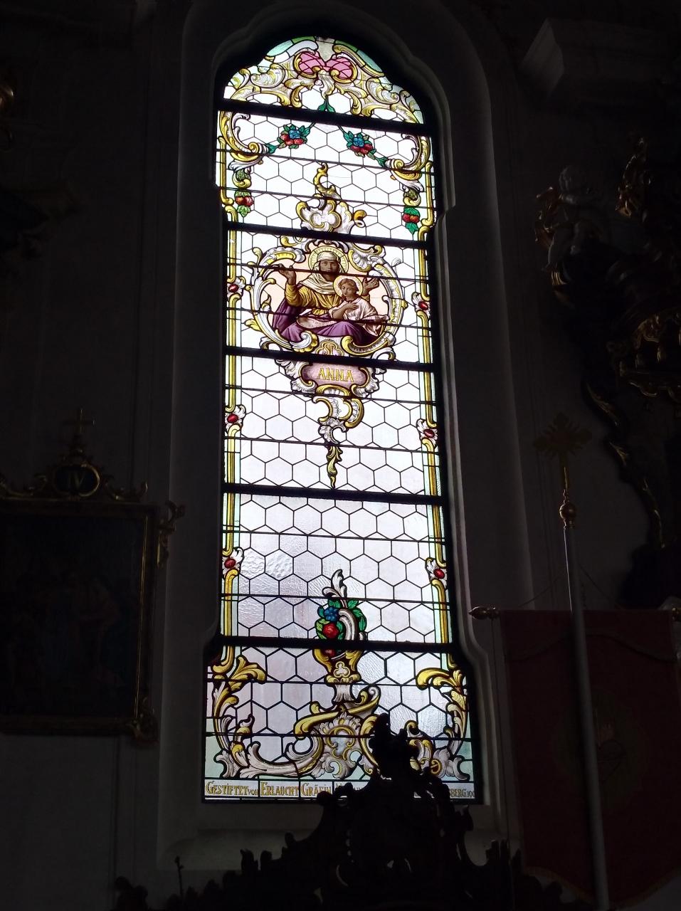 Kirchenfenster St. Nikolaus Oberndorf 2018 St. Anna (957x1280)