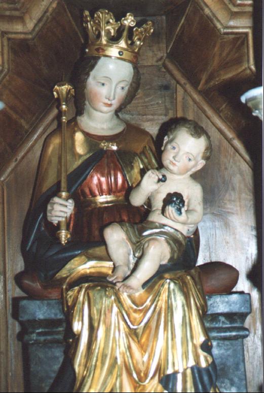 Maria mit Jesu, Pfarrkirche Batzenhofen