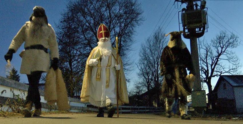 Nikolaus im Kurs - und in Sulzschneid