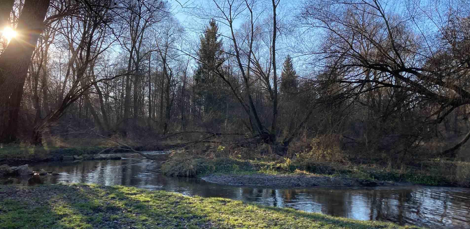 """""""Damit Ströme lebendigen Wassers fließen"""": Paardurchburch bei Ottmaring (Foto: Karl-Georg Michel)"""