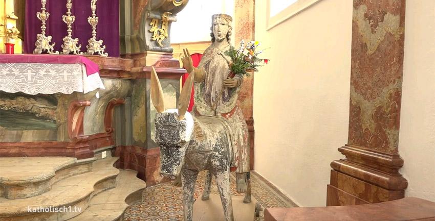 Palmesel in Petersthal (katholisch1.tv)