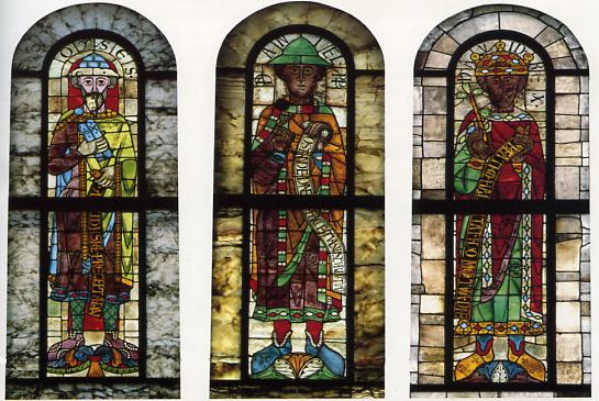 """""""Prophetenfenster"""" (12. Jahrhundert)"""