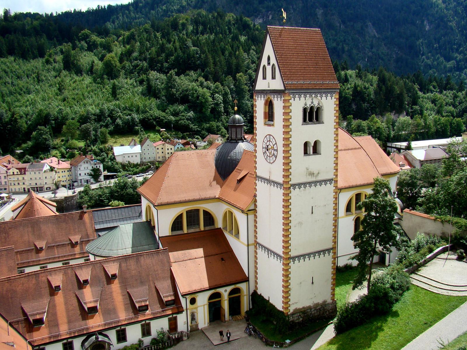 St. Mang in Füssen (Foto: Pfarrei St. Mang)