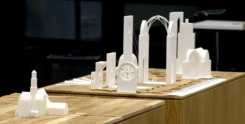 St. Ulrich und Afra im 3D-Modell