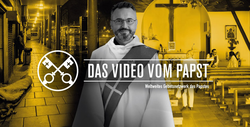 Video vom Papst Mai 2020