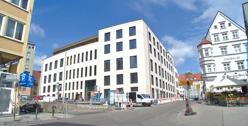 Wie neu: Bürogebäude der Diözese am Hafnerberg