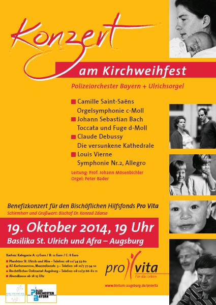 15 Jahre Pro Vita: Benefizkonzert am Kirchweihfest