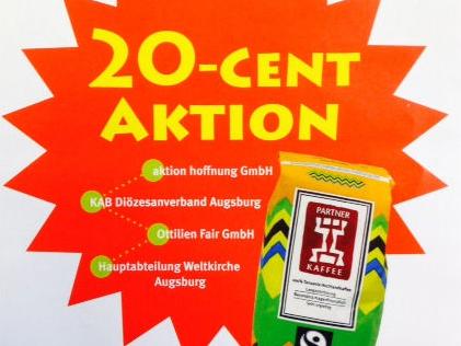 """""""20-Cent-Aktion"""" in der Fastenzeit"""