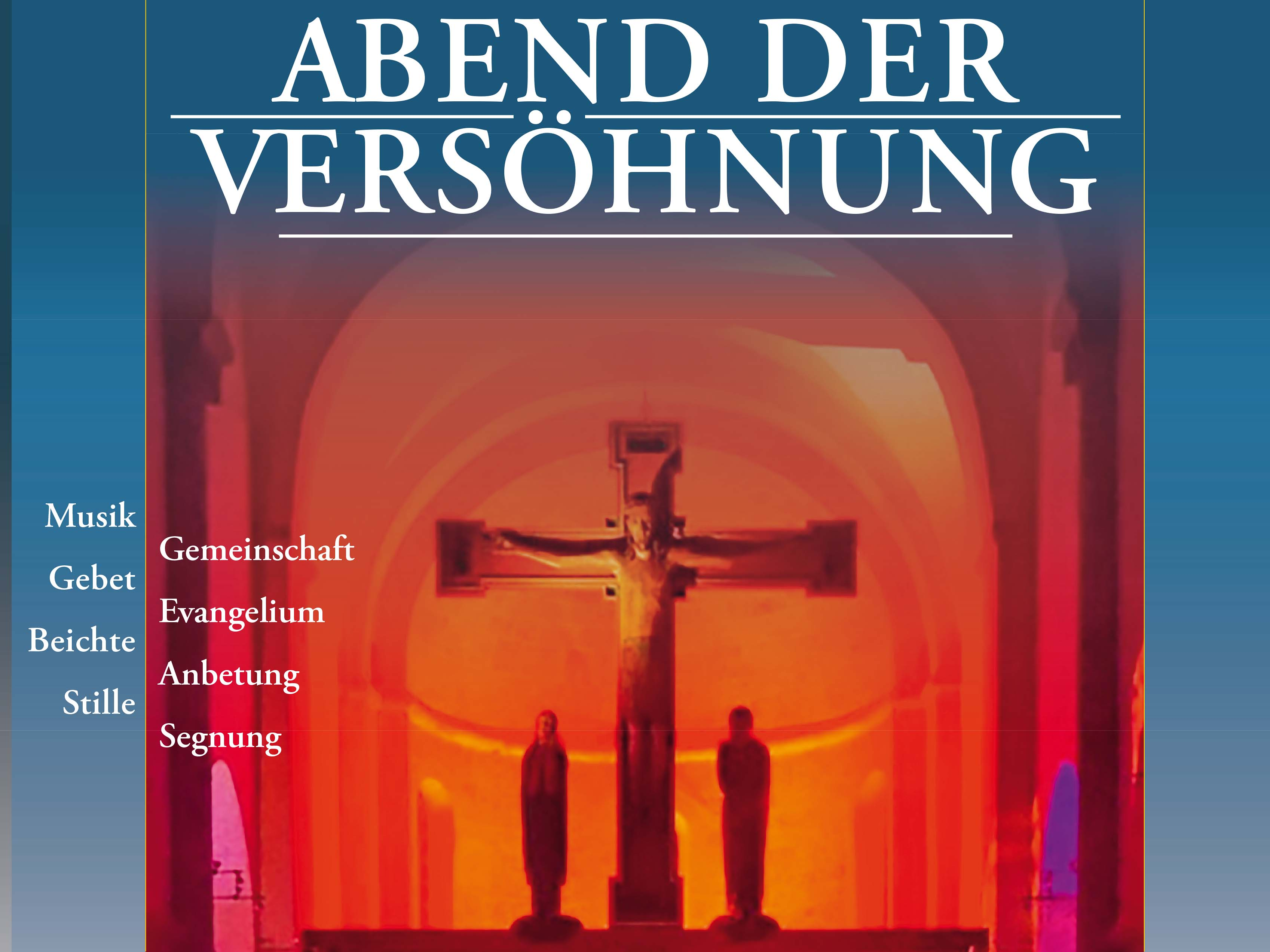 7ea3c0ceb9 Abende der Versöhnung und 24 Stunden für Gott - Bistum Augsburg